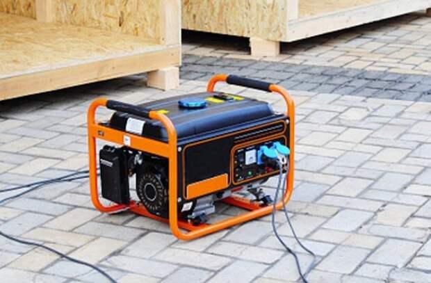 Резервный генератор.