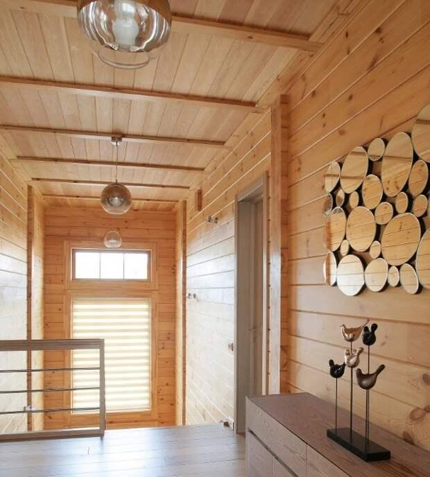 Имитация дерева в дизайне интерьера