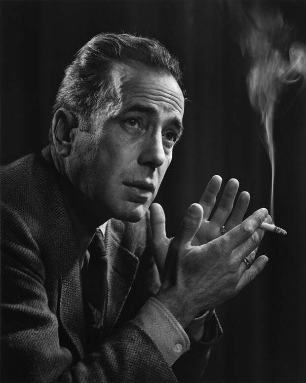 Humphrey Bogart by Yousuf Karsh