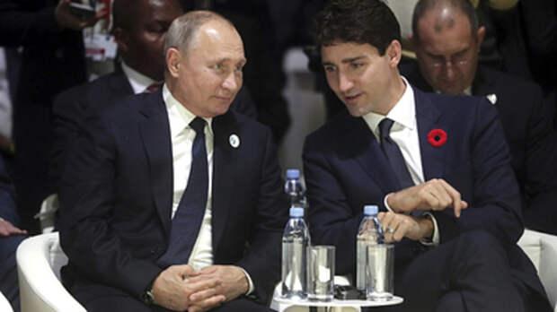 """Премьер Канады не побоялся выдать неприятную западу правду о Путине: """"Сказать всё..."""""""