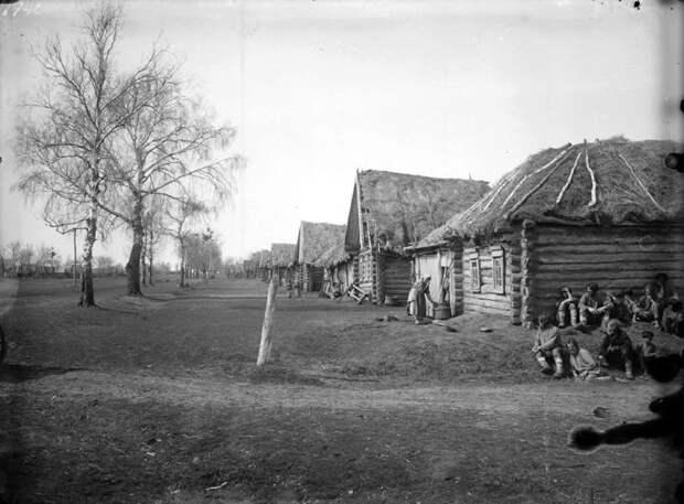 Деревня Пермяево. Нижегородская губерния, Лукояновский уезд, 1891-1892 год.