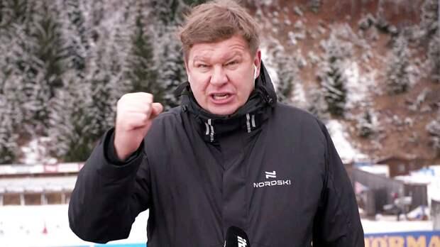 «Губерниев не позволит». Телеэксперт о том, что права на трансляцию биатлона могут перейти от «Матч ТВ» к Okko