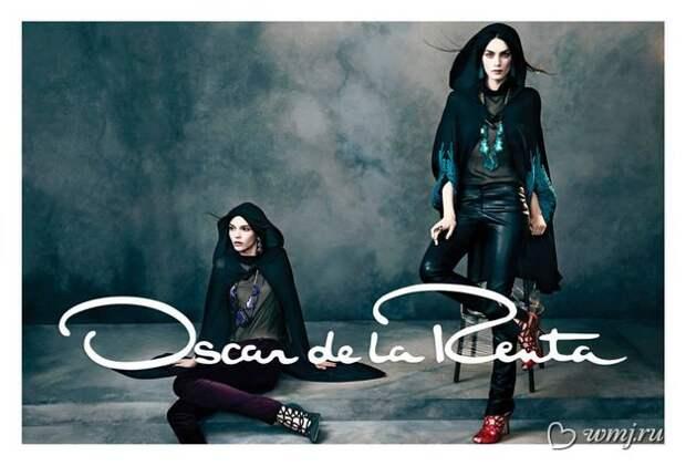 Рекламная кампания Oscar de la Renta, осень-зима 2013/2014