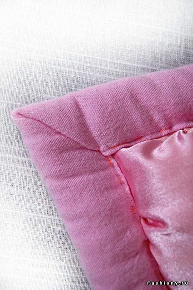 мастер-класс по пошиву одеяла и подушки (7) (466x700, 263Kb)