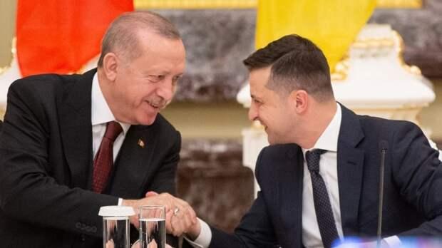 Зеленский провел переговоры с Эрдоганом после его заявления по Крыму