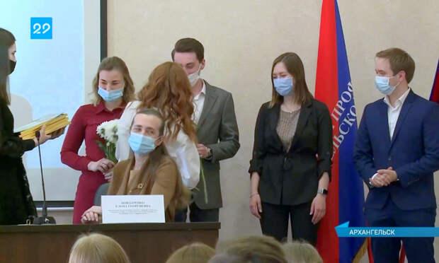 ВАрхангельске наградили студентов-медиков, работавших в«красной зоне» впик коронавирусной пандемии