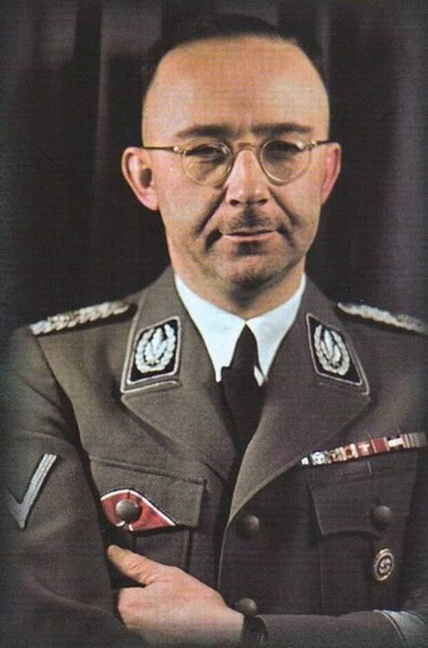 Один из главных деятелей Третьего рейха, входит в число главных организаторов Холокоста.
