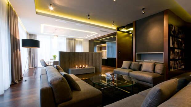 Светодиодная подсветка в квартире