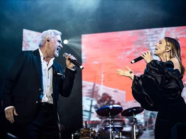 Владимир Меладзе и Альбина Джанабаева