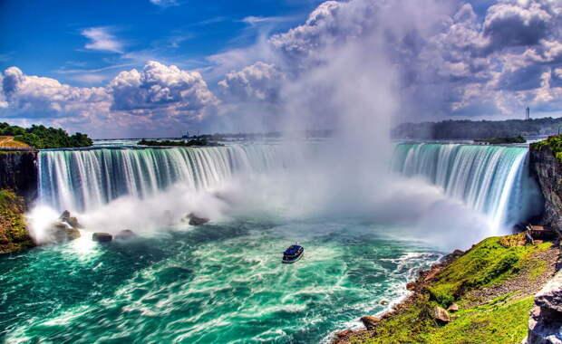 10 самых красивых водопадов в мире. Фото