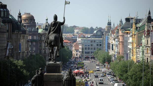 Вид на Вацлавскую площадь в Праге - РИА Новости, 1920, 17.04.2021