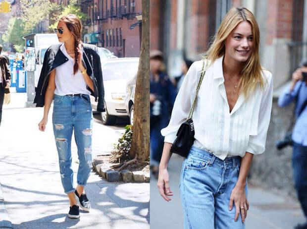 С чем носить винтажные «мамины» джинсы из 1990-х