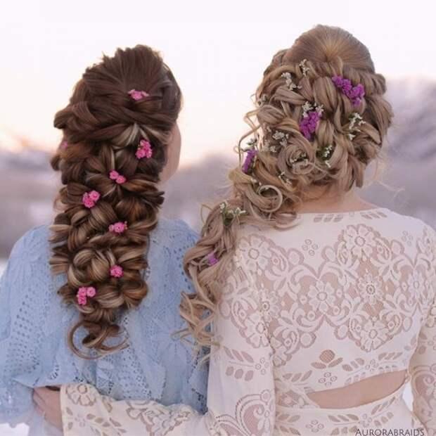 1.  косы, сестры