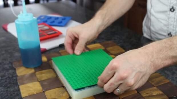 Супер десерт! Необычный способ сделать съедобный LEGO-конструктор