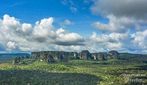 В лесах Амазонии найдена «Сикстинская капелла древних»