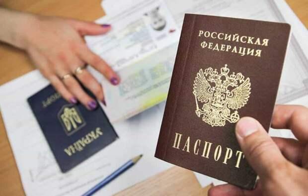 Число принятых в гражданство РФ жителей Донбасса превысило полмиллиона
