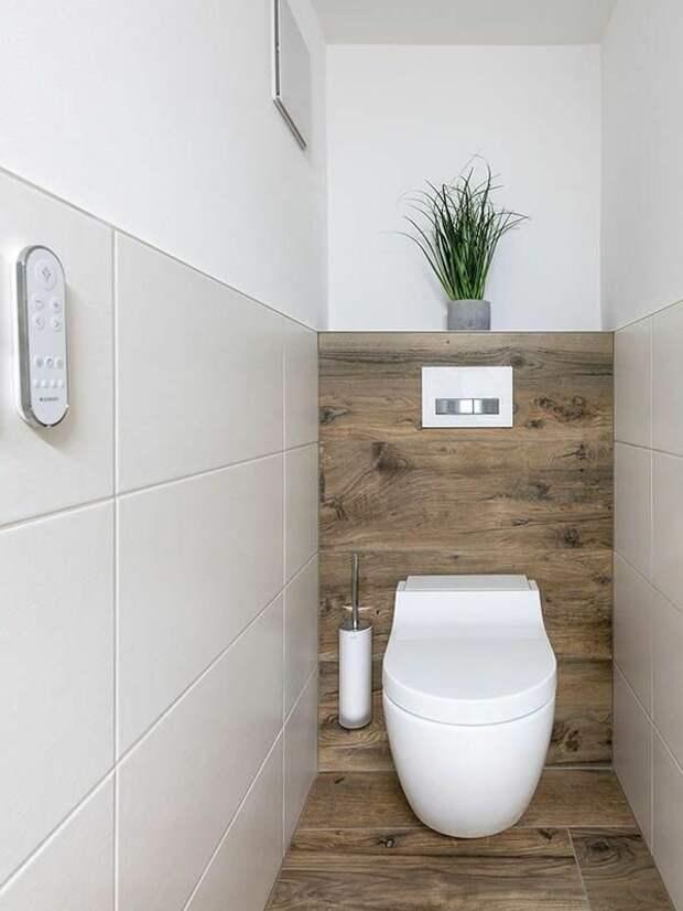 Лучшие решения для оформления маленького туалета