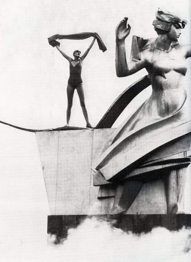 Уникальное соприкосновение капиталистического и коммунистического миров: фотосессия журнала Vogue в СССР в 1975 году.