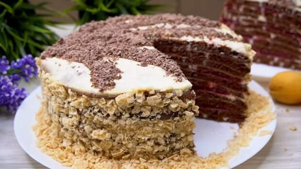 Торт На сковороде Торт, Торт на сковороде, Рецепт, Видео рецепт, Видео, Длиннопост, Кулинария, Еда, Десерт