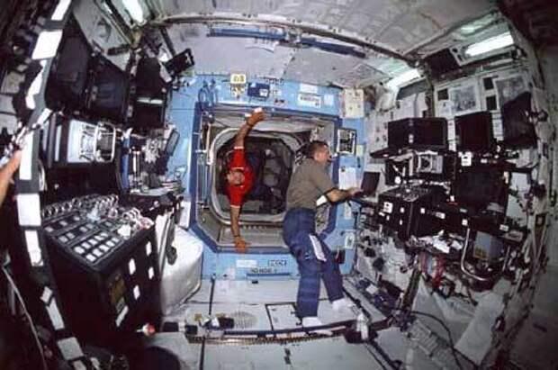Американцы на МКС могут остаться без еды из-за российского эмбарго