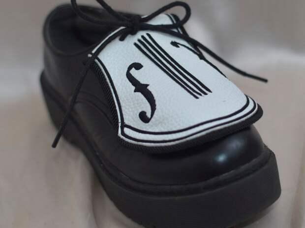 обувь скрипка музыкантам