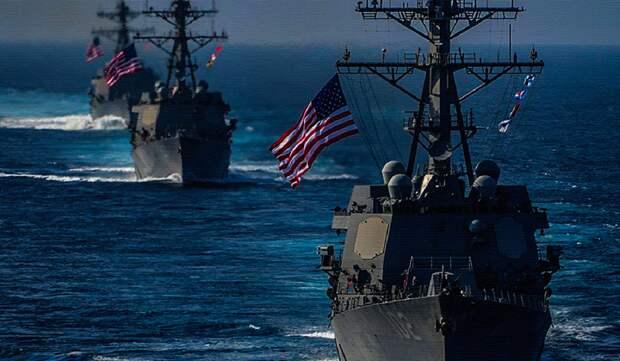 ВМС США в Баренцевом море. Источник изображения: