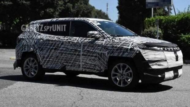 В США испытывается обновлённый Jeep Compass