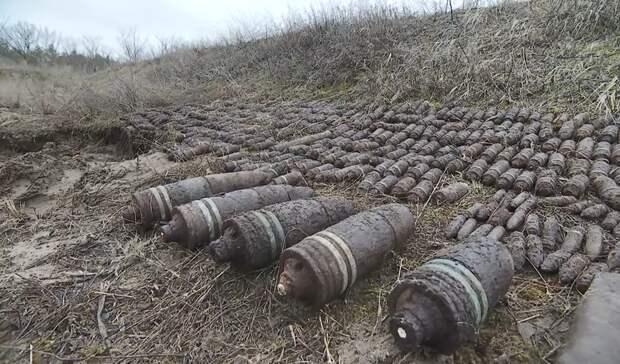 Крупный схрон боеспособных снарядов нашли вРостовской области