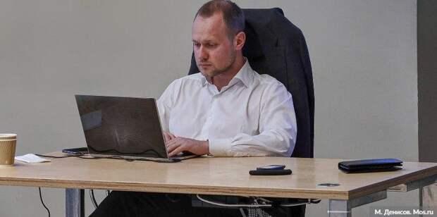 Сергунина: Интерактивный помощник для предпринимателей появился в Москве. Фото: М. Денисов mos.ru