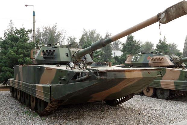 Китай отказывается от плавающих танков Type 63A