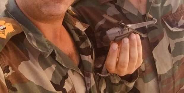 Новейший американский мини-дрон Black Hornet 3 попал в руки сирийской армии
