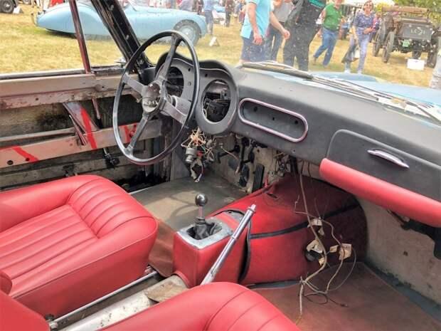 Капсула вне времени или Jaguar интересной судьбы Jaguar XK140, jaguar, авто, автомобили, находка, олдтаймер, ретро авто