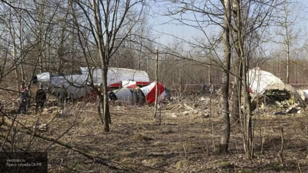 Появились новые подробности крушения самолета Качиньского в Польше