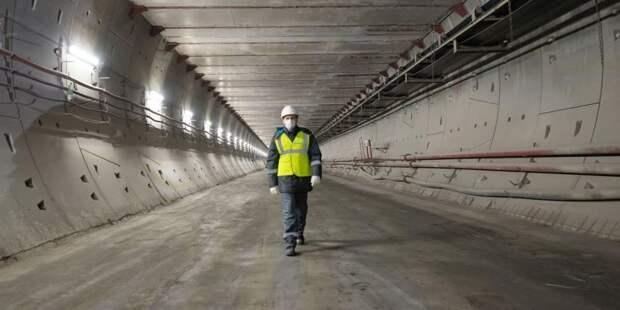 Собянин: Строительство ветки метро в район Северный идёт полным ходом