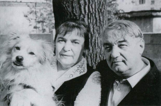 Лев Николаевич и Наталья Викторовна Гумилевы.