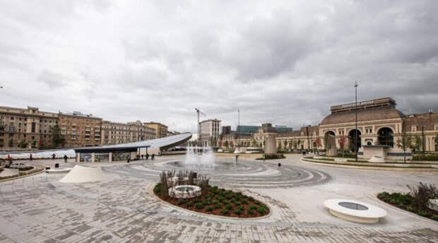 Сергей Собянин гордится парком на Павелецкой площади