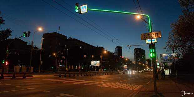 Светофор на Новокуркинском шоссе развернули в нужную сторону