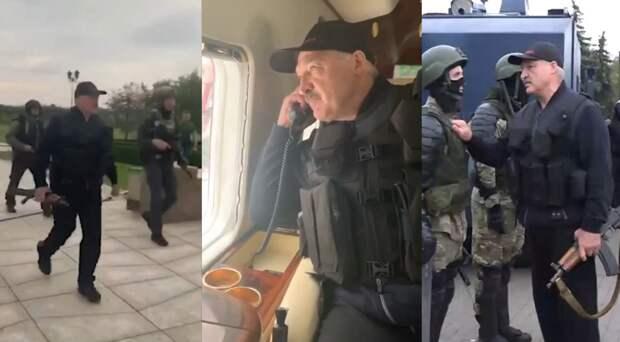 Светлоликие граждане искренне возмущены тем, что Лукашенко взял в руки автомат