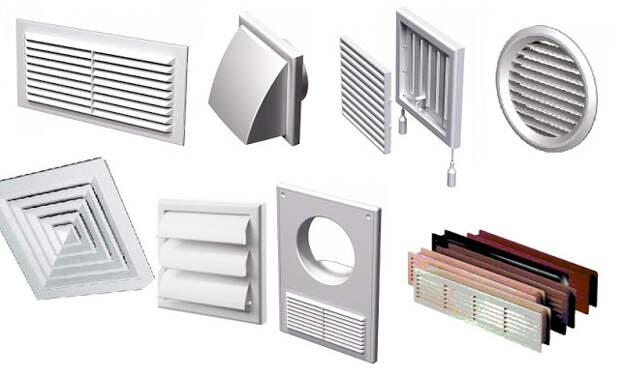 Решетки для вентиляции — виды, описание, применение