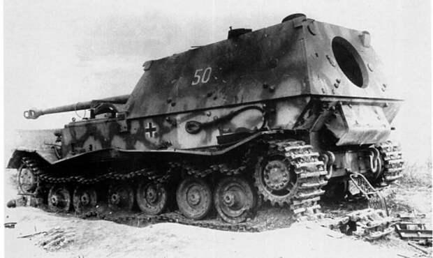 «Фердинанды» в глубоком советскому тылу. Обстрелы и изучение