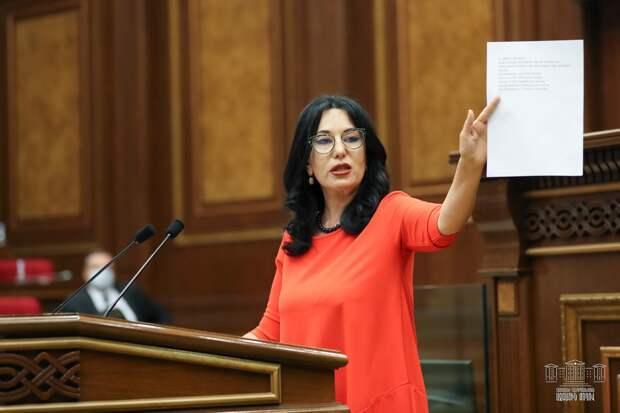 Спасибо, Армения: Делегат из Еревана беспрецедентно жёстко выступила в защиту России в ПАСЕ