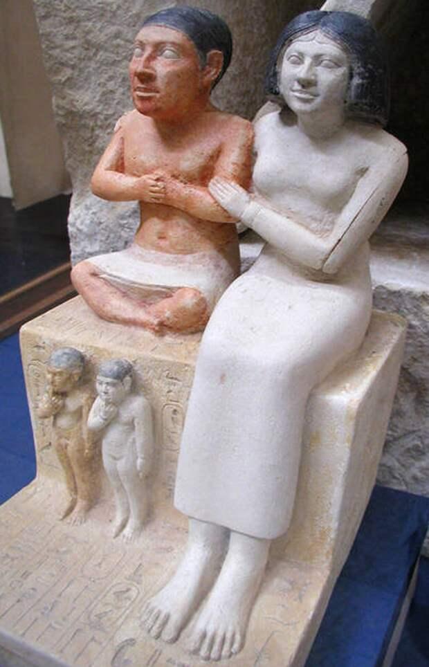 Древнеегипетские карлики.