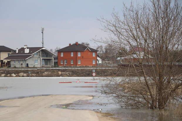 Уровень воды в реках Рязанской области продолжает понижаться