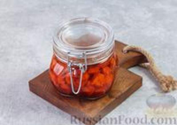Фото приготовления рецепта: Острая морковь в горчичном масле - шаг №9