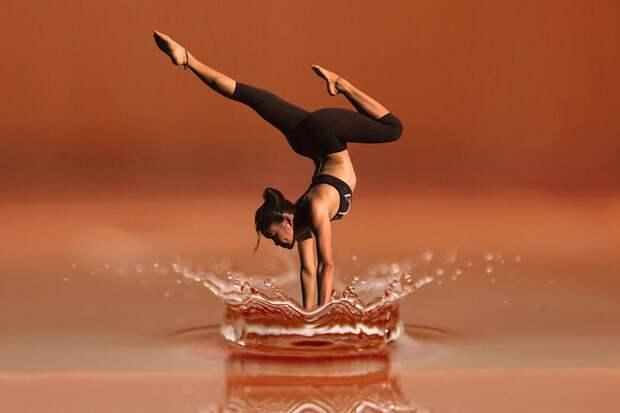 Танец, Йога, Медитация, Женщина, Фитнес, Здоровье