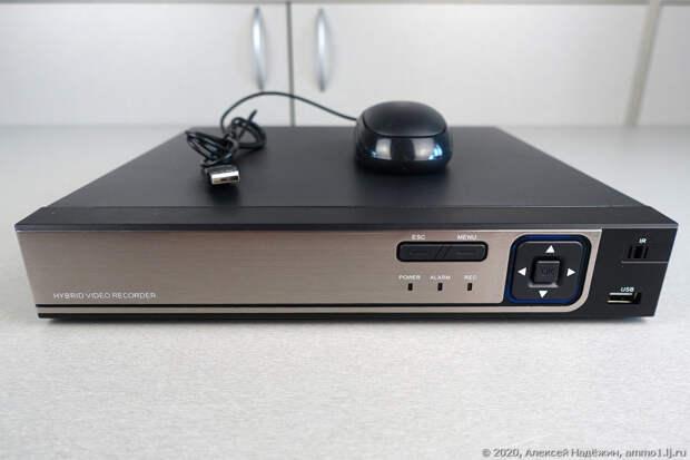 Обзор: Комплект POE видеонаблюдения с четырьмя камерами