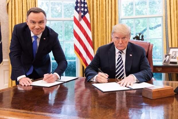 «Кто правит Польшей?», или зависимость польской красотки от ковбоя