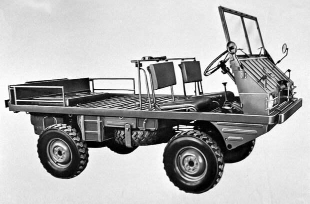 Pinzgauer: автомобиль, который может все