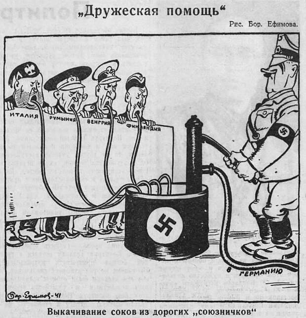 союзники Гитлера, Бенито Муссолини, Маннергейм
