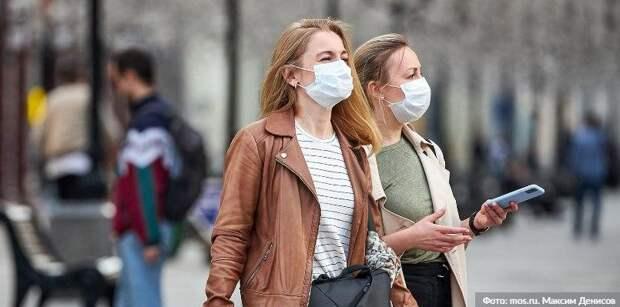 Почти 60 гостей трех ТРЦ на севере Москвы оштрафовали за отсутствие масок и перчаток